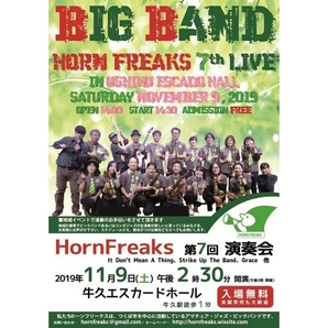 HornFreaks 7th LIVE
